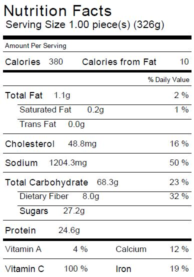 Simple Cod Nutrition Facts